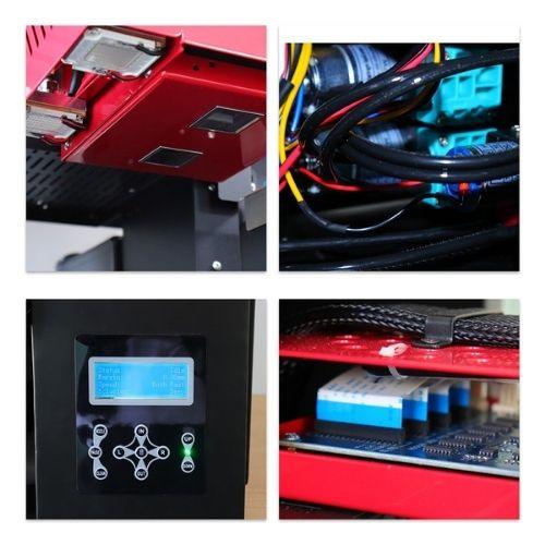 Uv printing machine for araylcic