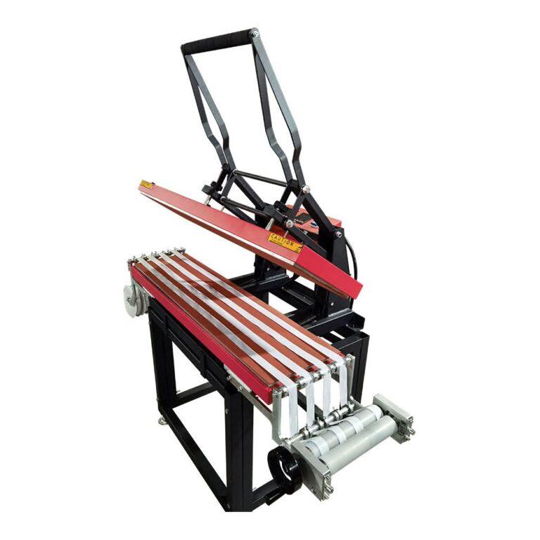 Lanyard Heat Press Machine with dual Heaters