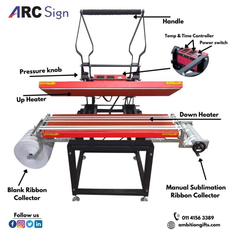 Lanyard Printing Machine With Dual Heaters